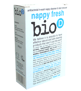 Detergente para lavar fraldas 500g - Bio-D