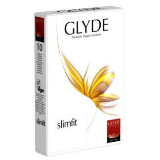 Preservativos ultra-finos transparentes Glyde (10 unid.)